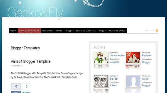 10 Websites to Download Free Blogger Templates
