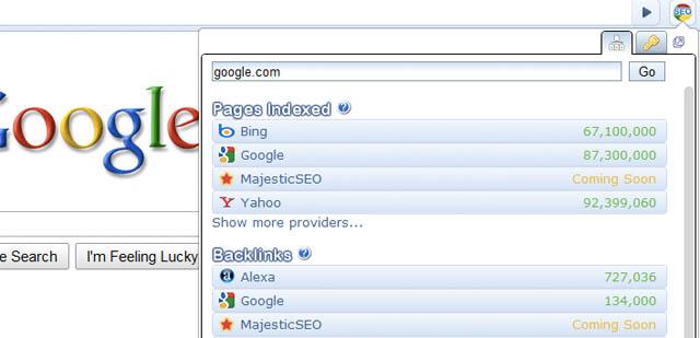 Chrome SEO : Google Chrome Extensions for Web Developers