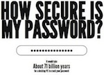 howsecureismypassword